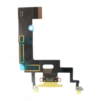 iPhone XR Dock Connector Flexkabel Gelb