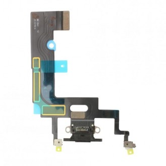 iPhone XR Dock Connector Flexkabel Schwarz