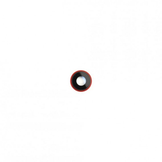 iPhone XR Kamera Linse mit Rahmen Rot