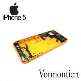 iPhone 5 Alu Backcover Rückseite Gold