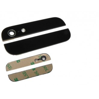 iphone 5 back rückglas Oben Unten schwarz Glas ink Klebepads