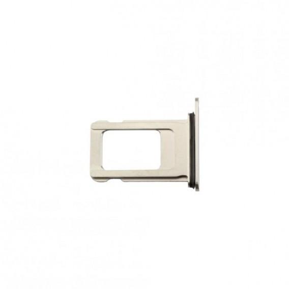 Sim Kartenhalter silber kompatibel mit iPhone XS