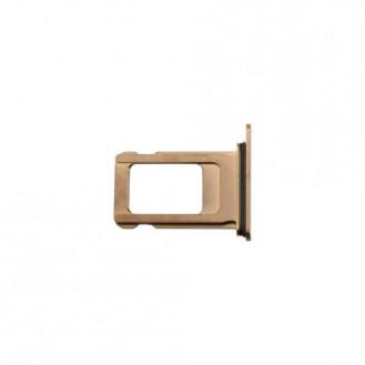 Sim Kartenhalter gold kompatibel mit iPhone XS A1920, A2097, A2098, A2100