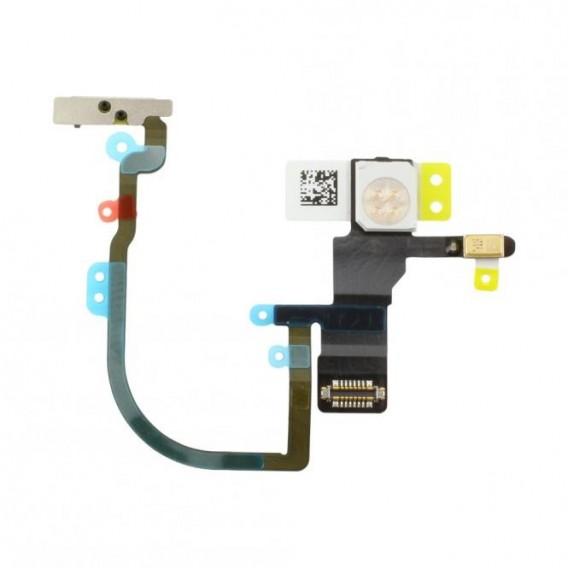 Power-(Ein/Aus)-tastenflex kompatibel mit iPhone XS Max
