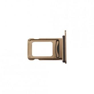 Sim Kartenhalter Gold kompatibel mit iPhone XS Max A1921, A2101, A2102, A2104