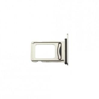 Sim Kartenhalter silber kompatibel mit iPhone XS Max A1921, A2101, A2102, A2104