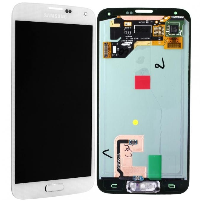 Samsung Galaxy S5 LCD Display+Touch, Weiss