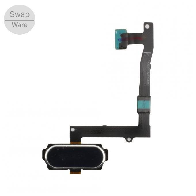 Samsung Galaxy S6 Edge Plus Home Button Flexkabel Schwarz