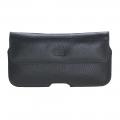 Aslant Lederschutzhülle für iPhone X / XS / 11 Pro Rustikal Schwarz