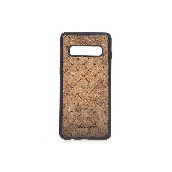Bouletta Echt Leder Flex Cover S10 Plus Braun