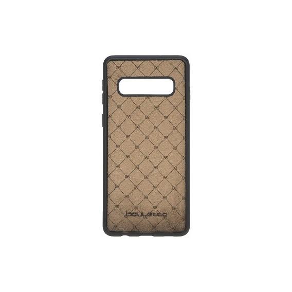 Bouletta Echt Leder Flex Cover S10 Plus Schwarz