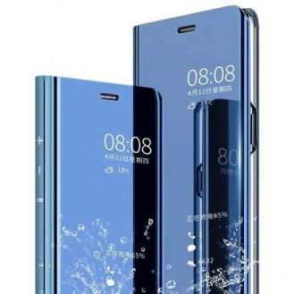 Samsung Galaxy S10 Plus Spiegel Case Blau