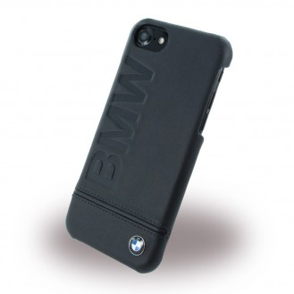 BMW - Signature Debossed Logo Leder Book Cover iPhone 7