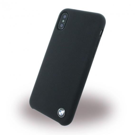BMW - Signature - Apple iPhone X Schwarz Silikon Cover Case
