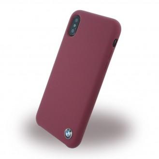 More about BMW - Signature - Apple iPhone X Burgundy Silikon Cover Case Handyhülle Schutzhülle