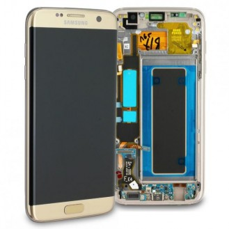 Samsung Galaxy S7 Edge LCD Display Gold