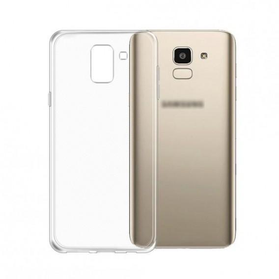 PT line TPU Schutzhülle Transparent für Samsung J6 Plus