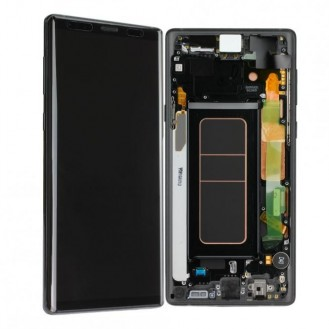 Samsung Galaxy Note 9 LCD + Frontcover, Schwarz