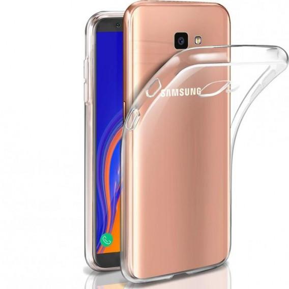 PT line TPU Schutzhülle Transparent für Samsung J4 Plus