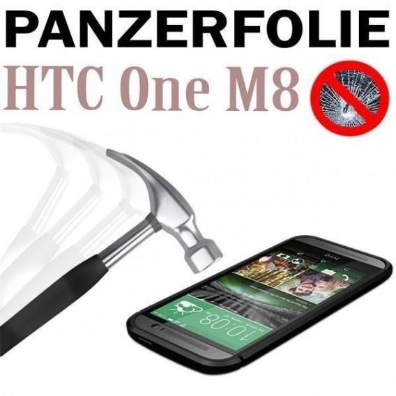 9H Panzerglas Tempered Folie HTC ONE M8