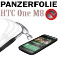 9H Panzerglas Tempered Folie HTC ONE M8