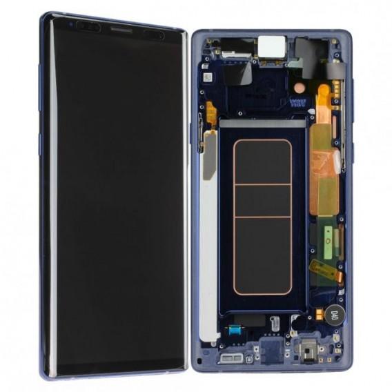 Samsung Galaxy Note 9 Komplett LCD + Frontcover, Blau
