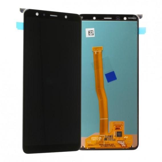 Samsung Galaxy A7 2018 LCD + Touch Einheit Schwarz