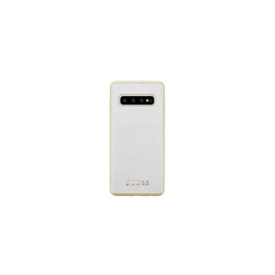 Guess Iridescent Hard Case für Samsung G973F Galaxy S10 Gold