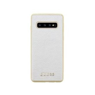 Guess Iridescent Hard Case für Samsung G973F Galaxy S10 Gold