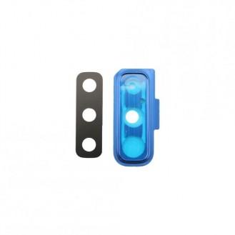 Kamera Linse + Rahmen kompatibel mit Samsung Galaxy A7 2018, Blau