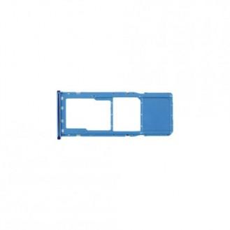 SIM Karten Schublade in für Samsung A7 (2018) in Blau