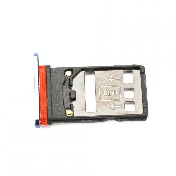 Sim Tray kompatibel mit Huawei Mate 20 X, Dunkelblau