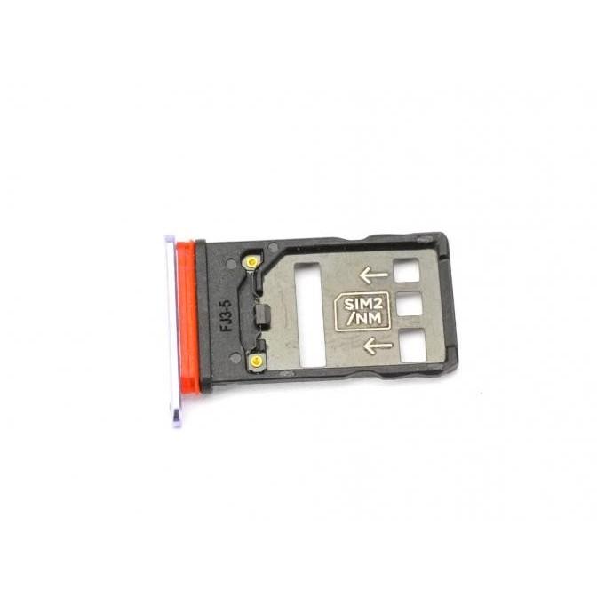 Sim Tray kompatibel mit Huawei Mate 20 X, Lila