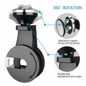 Magnetic Universal KFZ-Halterung / Kopflehnen-Halterung für Smartphones Silver
