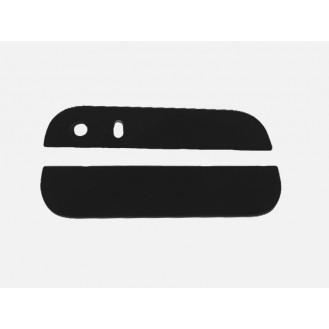 Kamera Back Rück Glas Oben Unten Abdeckung Schwarz iPhone 5S SE