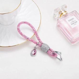 Lady Schlüsselanhänger mit speziellem Design Dunkel Rosa