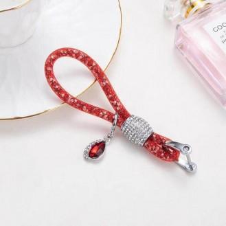 Lady Schlüsselanhänger mit speziellem Design Rot