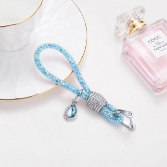 Lady Schlüsselanhänger mit speziellem Design Türkis