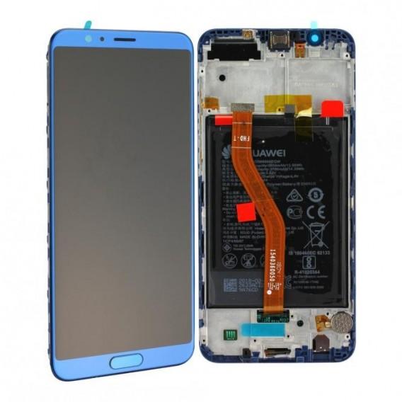 Huawei Honor View 10 LCD Einheit, inkl. Akku, Blau