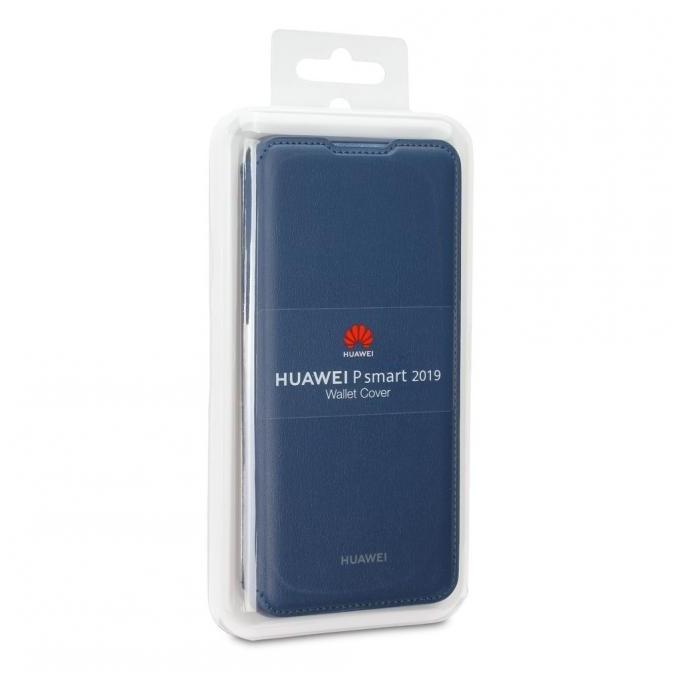 Huawei P Smart 2019 Flip Tasche, Blau