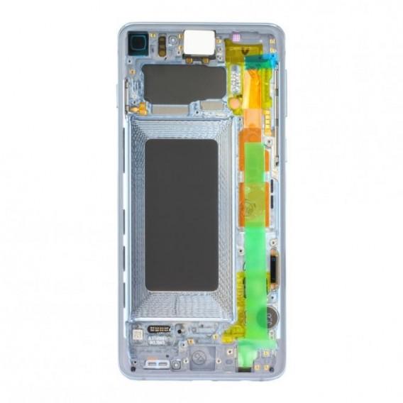 Samsung Galaxy S10 G973F LCD + Touch einheit, Prism Blue