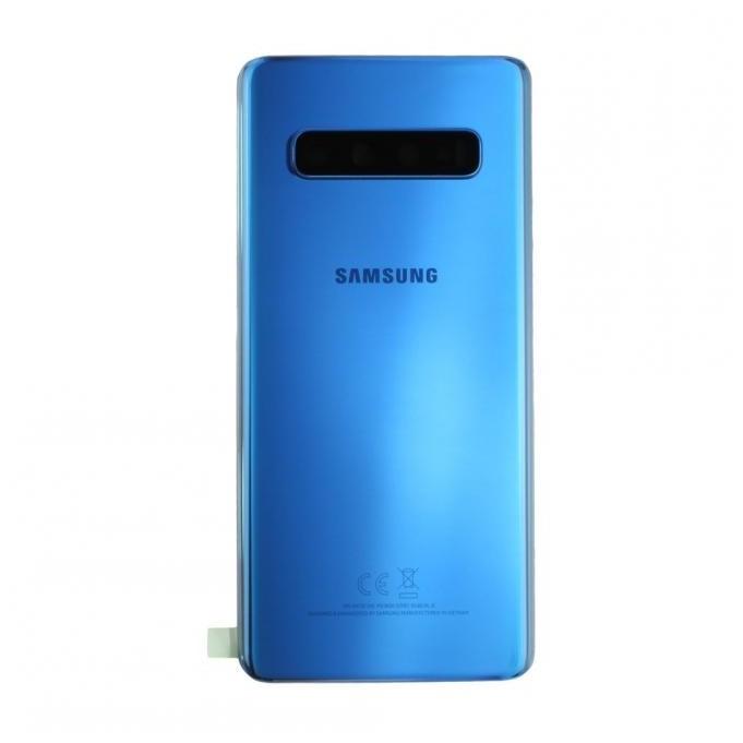 Samsung Galaxy S10 G973F Akkudeckel, Prism Blue