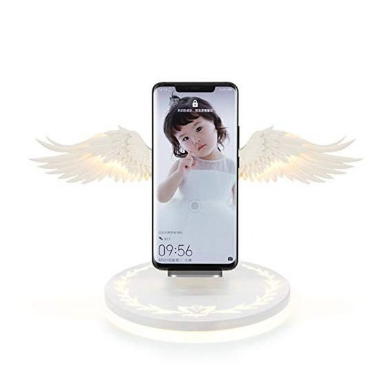 Angel Wings Smart Wireless Charger QI Ladestation