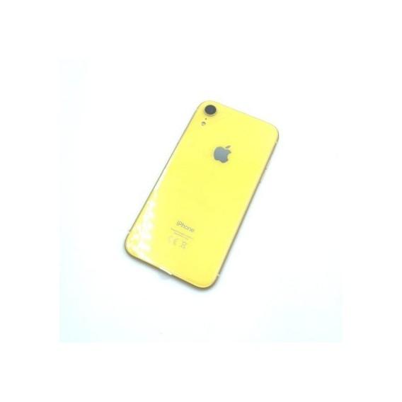 iPhone XR Backcover Gehäuse Rahmen mit Tasten Vormontiert Gelb