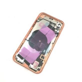 iPhone XR Backcover Gehäuse Rahmen mit Tasten Vormontiert Orange