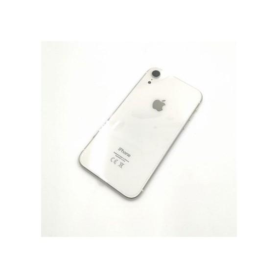 iPhone XR Backcover Gehäuse Rahmen mit Tasten Vormontiert Weiss