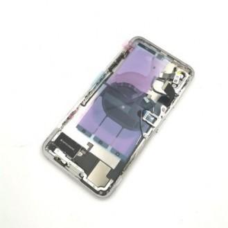 iPhone XS Max Backcover Gehäuse Rahmen mit Tasten Vormontiert Weiss A1921, A2101, A2102, A2104