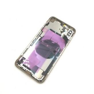 iPhone XS Max Backcover Gehäuse Rahmen mit Tasten Vormontiert Gold