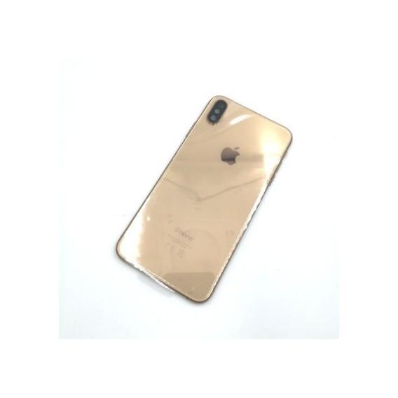 iPhone XS Backcover Gehäuse Rahmen mit Tasten Vormontiert Gold