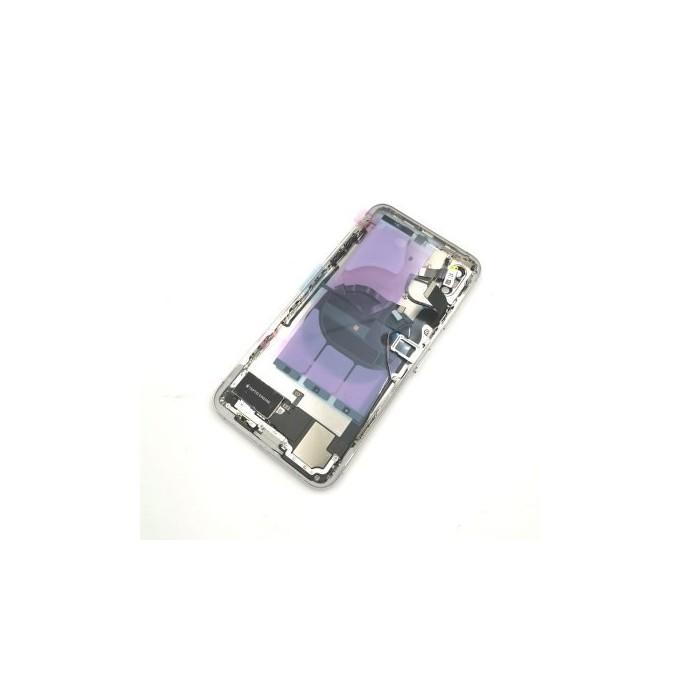 iPhone XS Max Backcover Gehäuse Rahmen mit Tasten Vormontiert Weiss